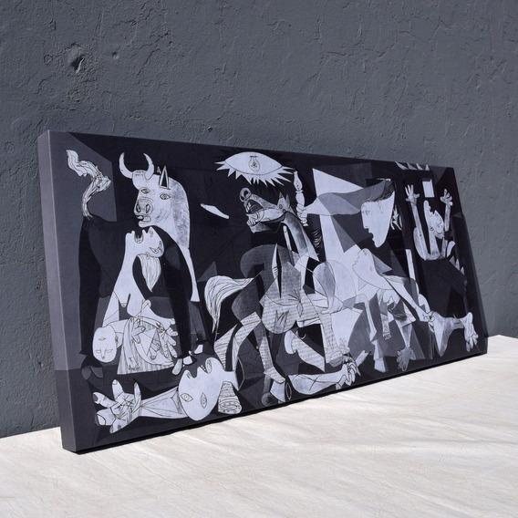 Cuadro Pablo Picasso Guernica 120x50 Canvas