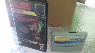 Cartuch Everdrive Super Nintendo En Caja Incluye Sd Con Roms