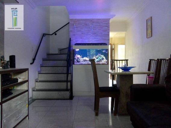 Casa Com 2 Dormitórios À Venda, 128 M² Por R$ 404.000 - Vila Dionisia - São Paulo/sp - Ca0225