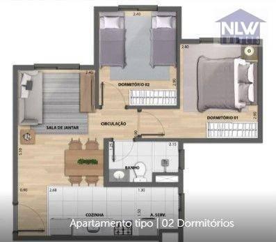 Apartamento Com 2 Dormitórios À Venda, 40 M² Por R$ 280.052,00 - Barra Funda - São Paulo/sp - Ap2439