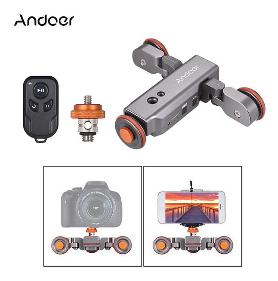 Andoer L4 Pro Cámara De Video Motorizada Dolly Con
