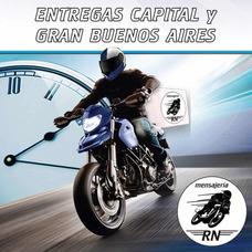 Servicio Moto Mensajeria Motomensajeria Capital Grn Bs As