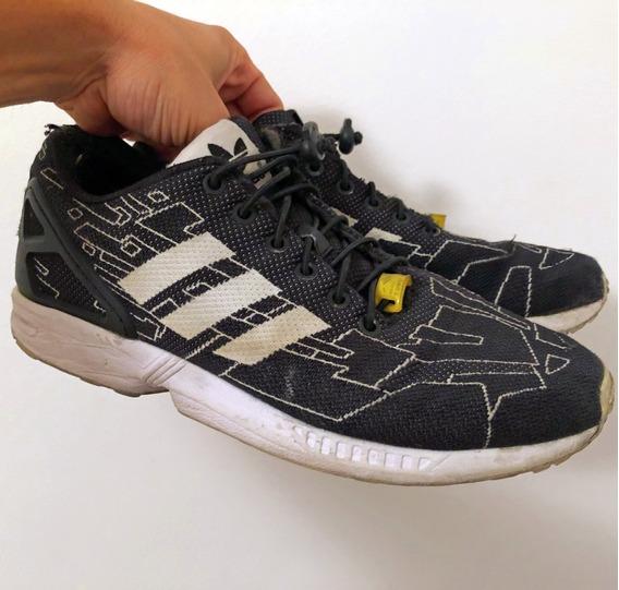 Zapatillas adidas Flux Buen Estado Cordones Con Elasticos