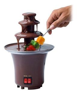 Maquina Fuente De Chocolate 3 Niveles Fondué Eléctrica