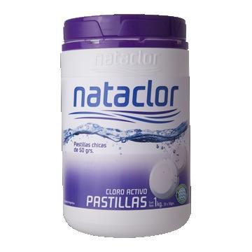 Nataclor Pastillas Cloro Activo 50grm 1kg - C201b