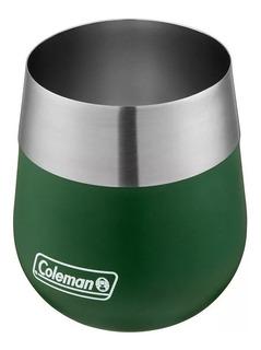Vaso Térmico Coleman Acero Inox. Claret 384ml Green Black