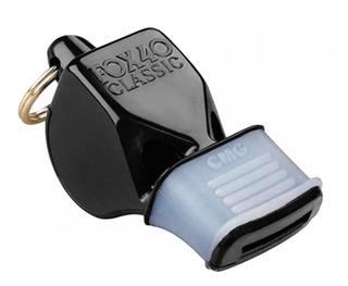 Silbato Fox40 Classic- Negro Con Protector