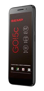 Smartphone Semp Go 5c 16gb Android 8.1 Oreo Preto
