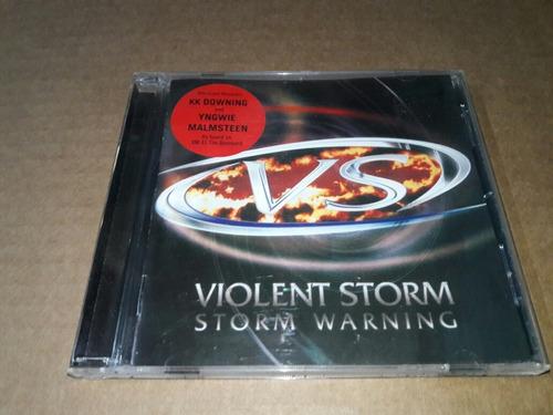 Violent Storm - Storm Warning (cd Imp)