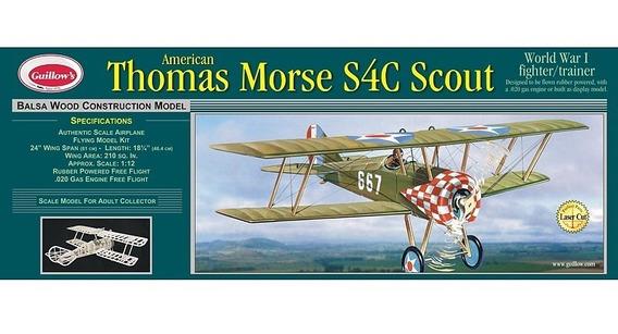 Guillows Kit P/construir Thomas Morse Scout 201