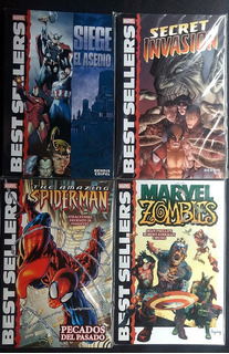 Marvel Best Sellers - Lote 4 Tomos Marvel México Zombies