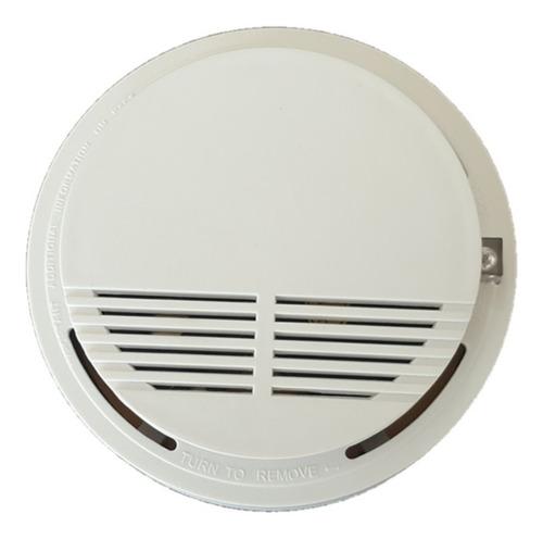 Sensor Detector De Humo Inalámbrico Con Alarma A Batería 9 V