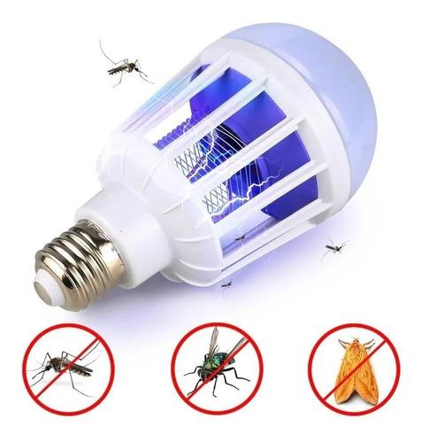 Kit 6 Lampada Led 15 W Repelente Mata Mosquito Pernilongo