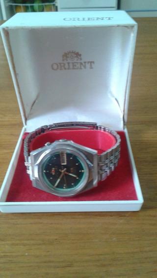 Relógio Oriente Automático Verde