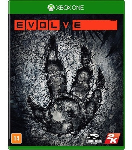 Evolve - Jogo Midia Fisica Lacrado - Xbox One