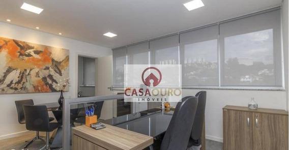 Salas Com 51 M² A Venda No Estoril, Belo Horizonte / Mg. - Sa0074