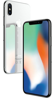 iPhone X Prata 64gb Tela 5.8 Ios 11 4g Wi-fi Câmera 12mp