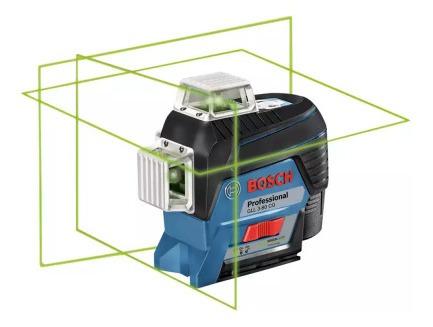 Imagem 1 de 3 de Nível A Laser Gll3-80cg C/ Receptor S/ Tripe Bosch