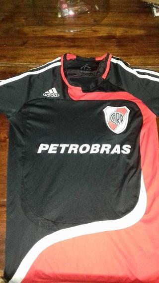 Camiseta River 2007 Alternativa Negra Original De Epoca