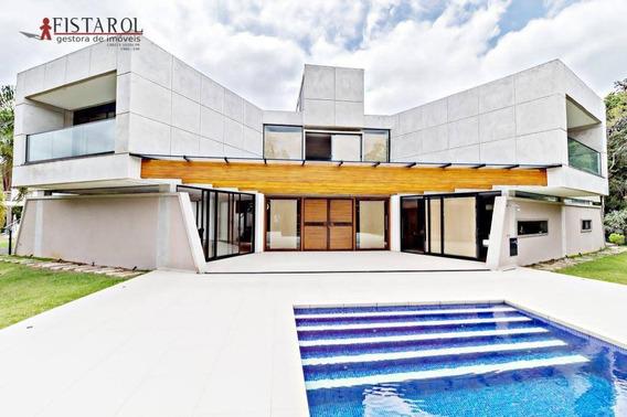 Casa Em Condomínio Fechado Pousada Com 3 Suites À Venda, 504 M² - Jardim Menino Deus - Quatro Barras/pr - Ca0007