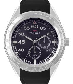 Relógio Technos Masculino Preto Original Garantia 6p22af/8a