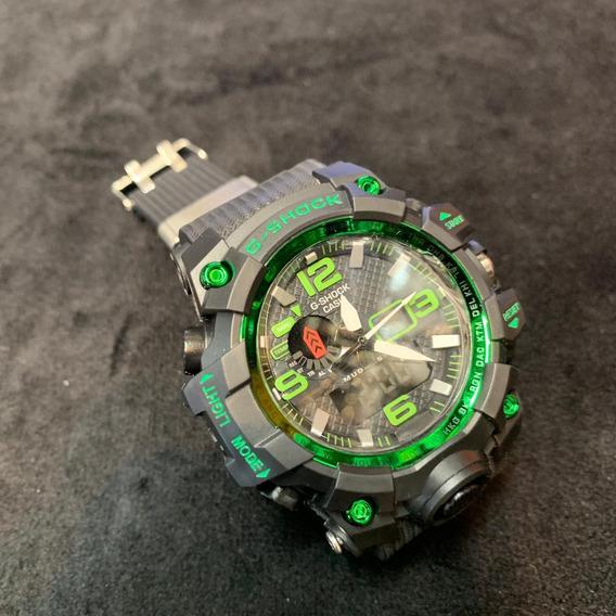 Relógio Gshock Mudmaster Analógico E Digital