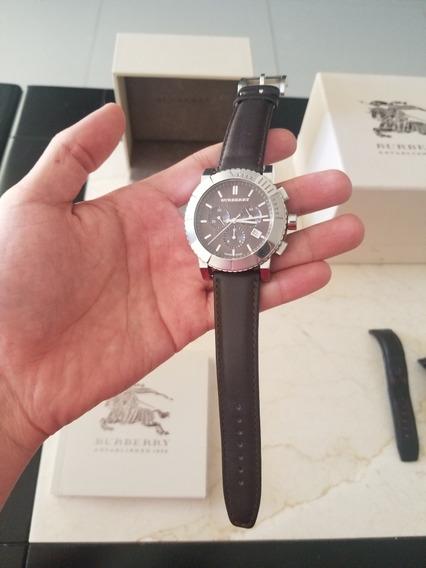 Reloj Burberry Hombre Cronógrafo Mod. Bu2307 100% Original