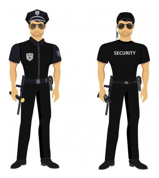 Uniformes E Implementos Para Compañías De Seguridad De Todo