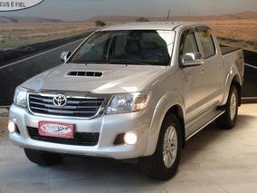 Toyota Hilux Cd D4-d 4x4 3.0 Tdi Diesel Mec 2013