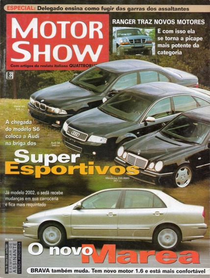 Motor Show Nº219 Fiat Marea Audi S6 Mercedes E55 Amg Bmw M5
