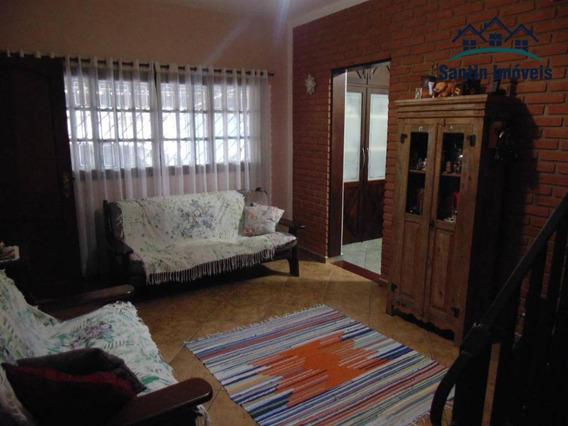 Sobrado Com 02 Dormitórios À Venda, 124 M² Por R$ 460.000 - Vila Vivaldi - São Bernardo Do Campo/sp - So0255