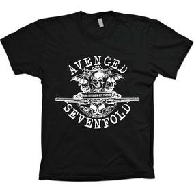 Camisas Bandas Rock - A7x Avenged Sevenfold - 100% Algodão!!
