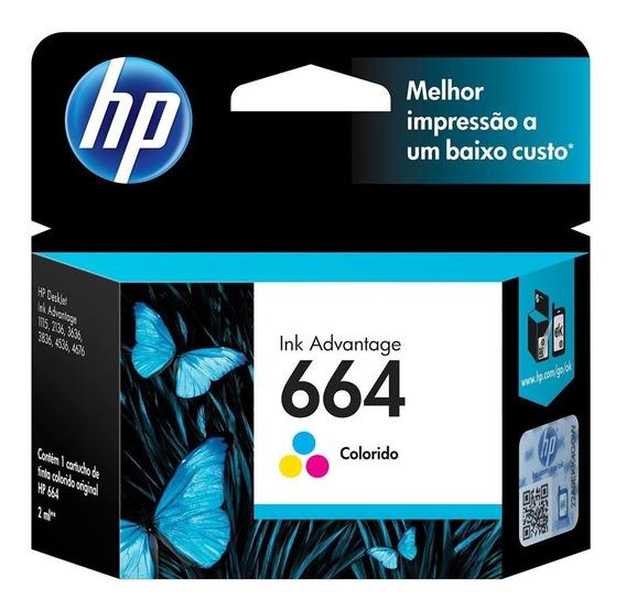 Cartucho Hp 664 Color Ref:f6v28ab Ink