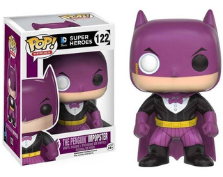 Muñeco Funko Pop 122 Dc Batman Penguin Impopster Orig!!
