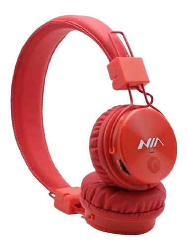 Audifono Bluetooth Nia Original X3 Micro, Sd Radio, Llamadas