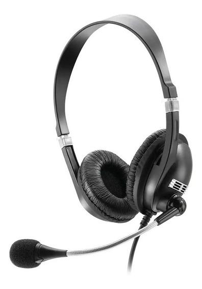 Headset Fone C/ Microfone Premium Acoustic Multilaser Ph041
