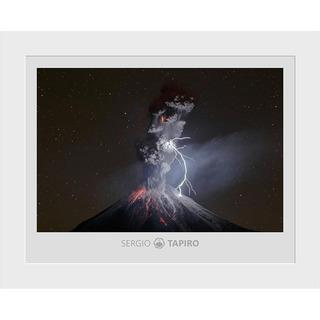Foto Volcan De Colima, Sergio Tapiro. 38x31cm