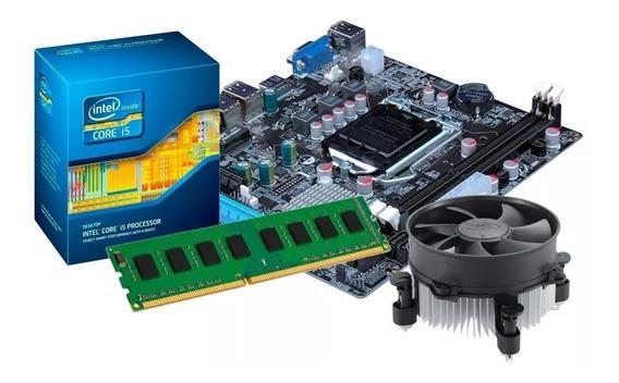 Kit Placa Mãe + Processador I5 3470 + Memória 8gb (2 X 4gb)