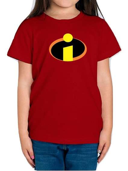 Playera Los Increibles The Incredibles Niña 1 Pieza C/envio