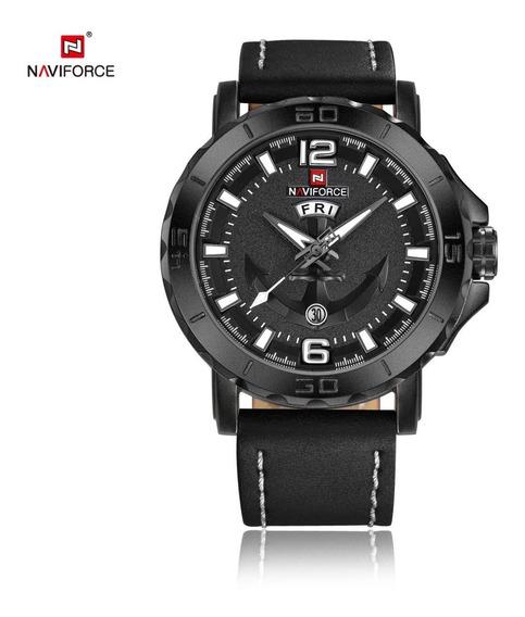 Relógio Naviforce Masculino Militar Social Original