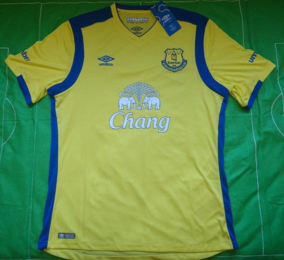 Camiseta Everton Fc Umbro 100% Original Nueva Alternativa