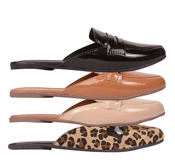 03 Pares Sapatilha Sapato Feminina Chiquiteira Chiqui/9175