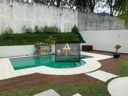 Magnifica Casa Á Venda No Residencial Tamboré 3 - Confira! - Ca2487
