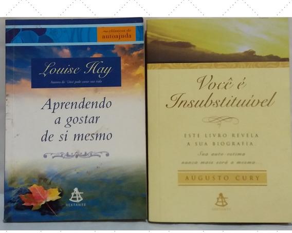 Kit 2 Livros Aprendendo A Gostar De Si Mesmo E Você É Insub.