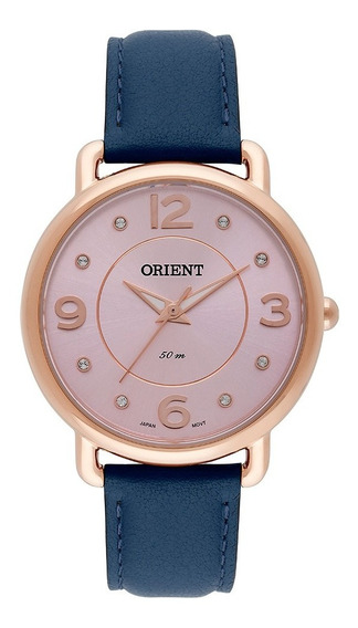Relógio Orient Feminino Rosê Frsc0006 R2dx