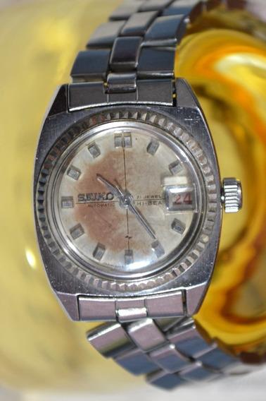 Relógio Seiko Hi-beat 2205-0230 Mostrador Com Desgastes