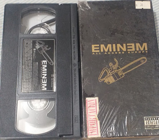 Eminem Vhs The Accsesee Europa