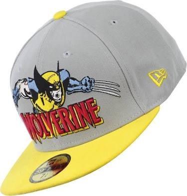 Gorra De Wolverine Color Amarillo Y Gris
