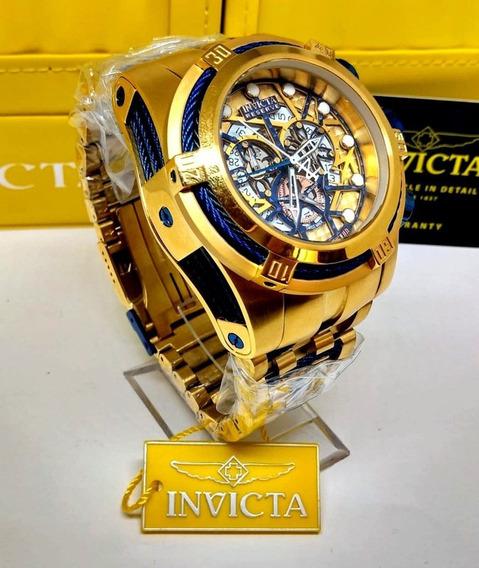 Relógio Invicta Bolt Skeleton 12762 Original Garantia 2anos