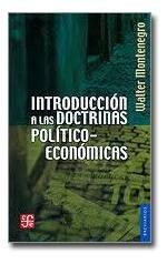 Imagen 1 de 1 de Introducción A Las Doctrinas Político-económicas
